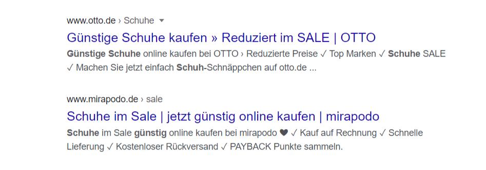 suchvorschau google